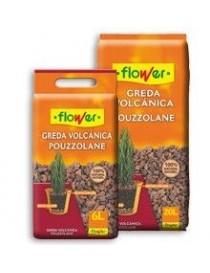 FLOWER GREDA VOLCANICA DECORATIVA 12/18 6 L.