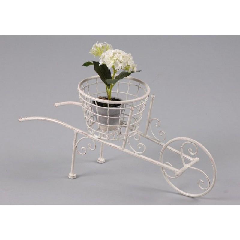 Portamacetas carreta carretilla accesorios planta for Carreta de madera para jardin