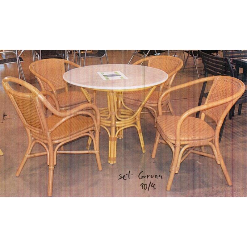 Muebles jardin muebles ratan muebles mimbre mesa jardin for Muebles jardin mimbre
