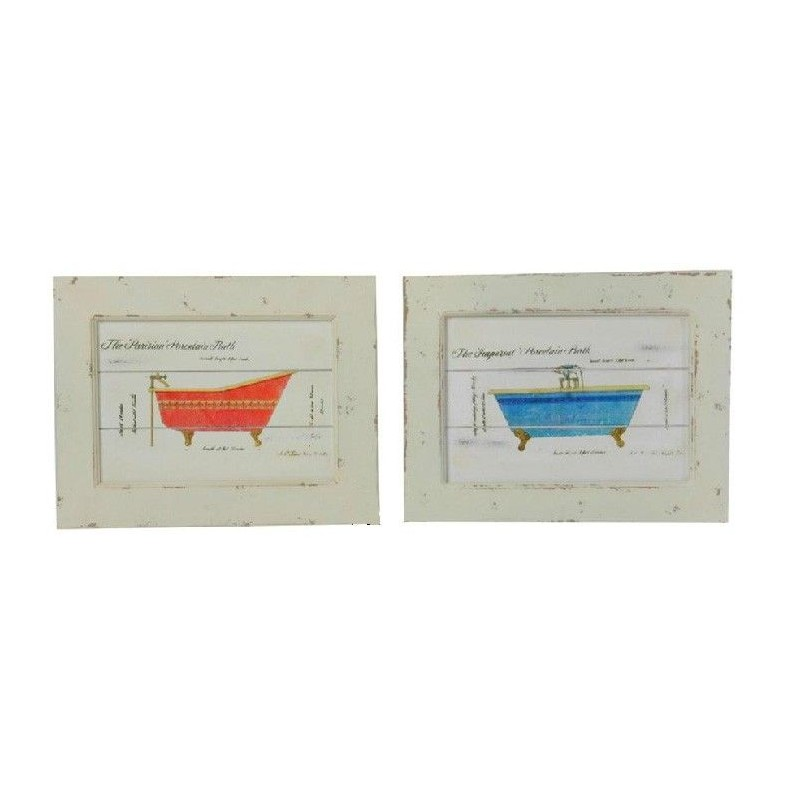 Decoracion Baño Cuadros:cuadro madera, cuadro baño, decoracion baño,