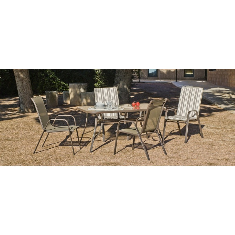 Conjunto jardin conjunto comedor muebles jardin muebles for Conjunto muebles terraza jardin