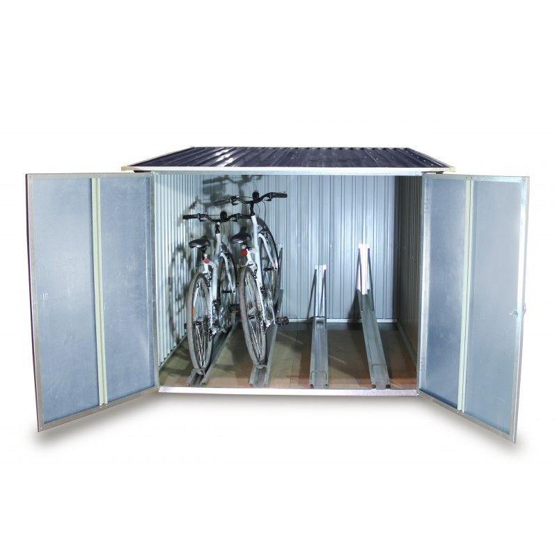 Guarda bicis guardar bicis garaje bicicletas caseta for Casetas para guardar bicicletas