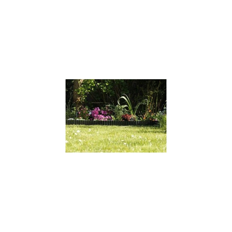 Borde cesped cerramiento cesped bordillo jardin for Borde plastico para jardin