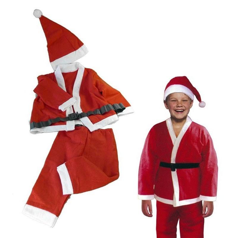 Papa noel traje navidad disfraz navidad traje infantil - Trajes de papa noel para ninos ...