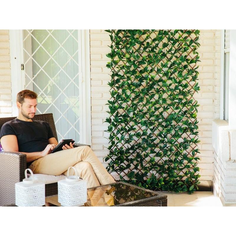 Celosia seto artificial ocultacion jardin celosia laurel celosia decorativa cerramiento - Ocultacion para jardin ...
