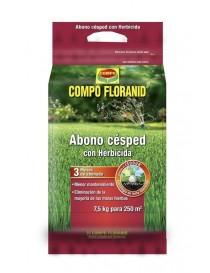 COMPO ABONO CESPED + HERBICIDAD 7,5 KG.