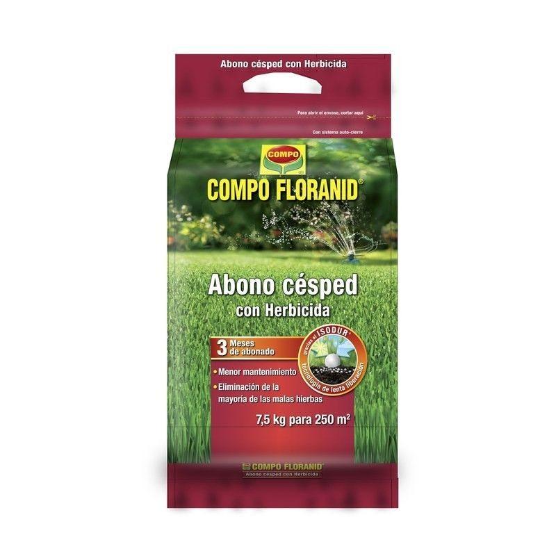 Compo abono cesped herbicida cesped abono floranid - Escarificadores de cesped ...