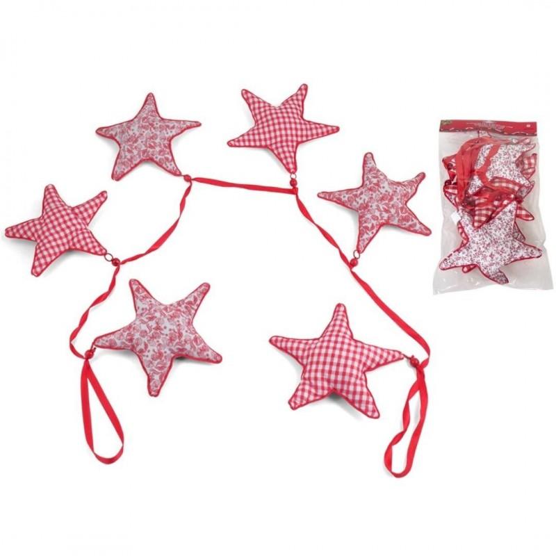 guirnalda navidad estrellas tela 17 metros loading zoom - Guirnalda Navidad