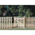 puerta valla madera clsica 100x80 cm - Valla De Jardin