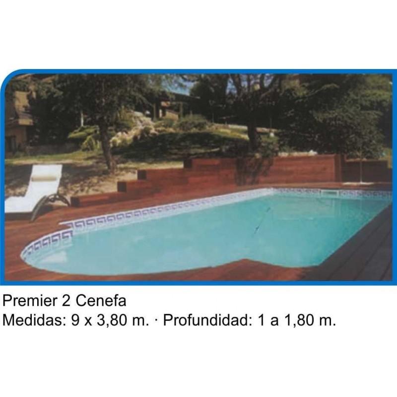 Piscina premier for Cenefas para piscinas