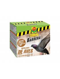 BARRERA ANTI PAJAROS COMPO BYEBIRDS 6X16 PLATOS