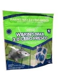 CEBO RODENTICIDA EN PASTA FRESCA WARIN'S MAX 3. 0