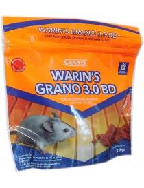 CEBO RODENTICIDA EN GRANO WARIN'S MAX 3. 0