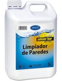 LIMPIADOR DE PAREDES PISCINA POLIESTER 5 LITROS