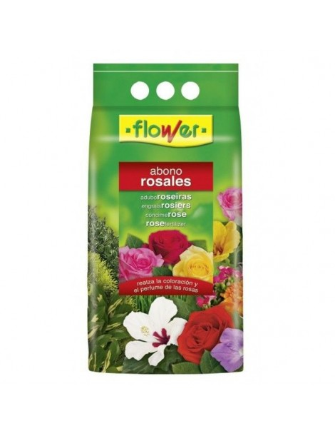 ABONO ROSALES 4 KGS. FLOWER