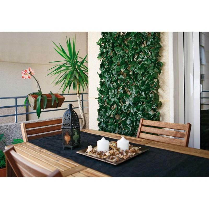 Celosia seto artificial ocultacion jardin celosia con hojas celosia decorativa cerramiento - Ocultacion para jardin ...