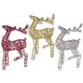 Ciervo Navidad Ciervo Colores Decoracion Navidad Reno Navidad - Ciervo-navidad