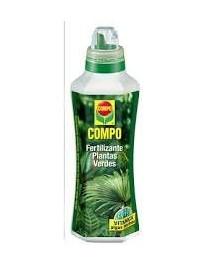 COMPO FERTILIZANTE PLANTAS VERDES 1,3 L.