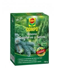 COMPO ABONO CONIFERAS Y SETOS 750 GR.
