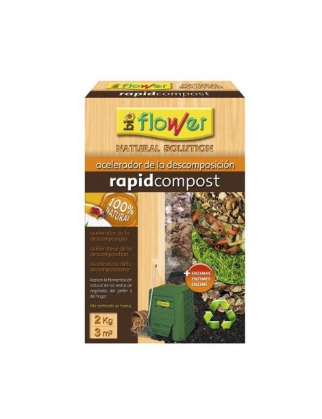 BIOFLOWER RAPID COMPOST 2 KG.