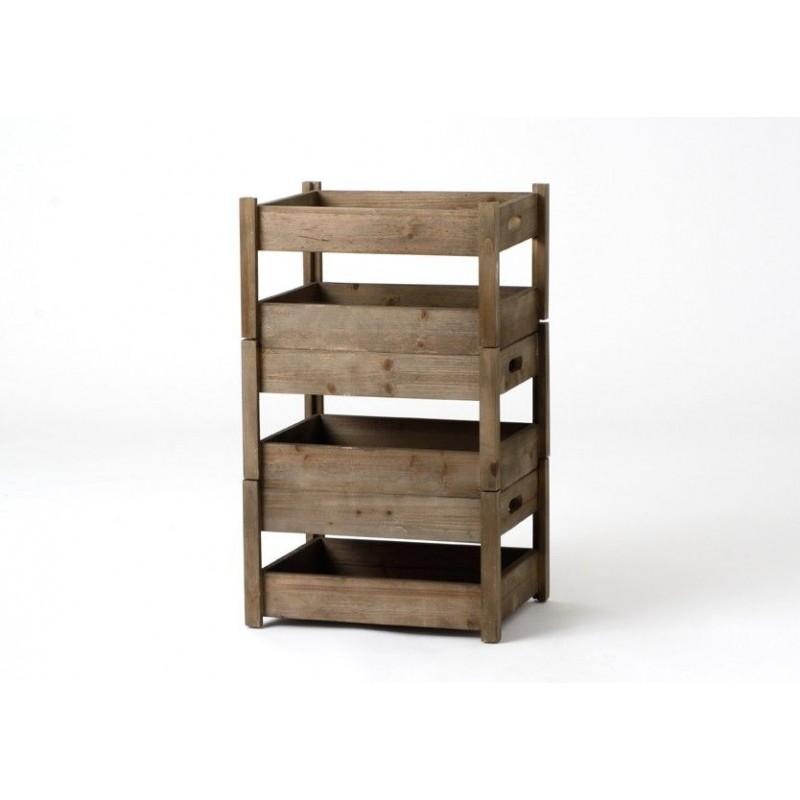 Estanterias pequeas affordable biblioteca abierta en el - Estanterias pequenas de madera ...